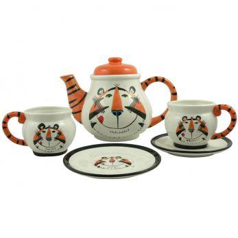 Vintage Tony the Tiger™ Tea Set front view