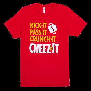 Cheez-It® Kick Pass Crunch Unisex Tee