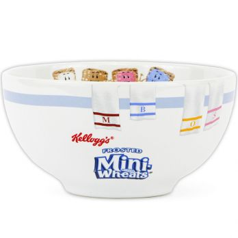 Mini-Wheats® Soaking Cereal Bowl front view