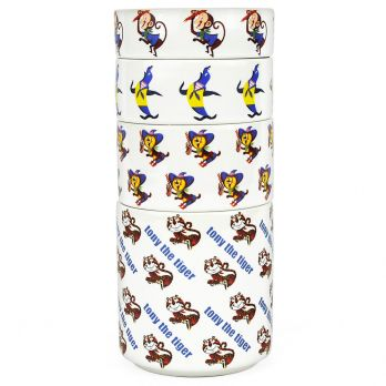 Kellogg's® Vintage Character Stackable Measuring Cups stacked view