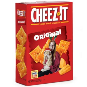 Cheez-It® Add Your Photo to a Box front view