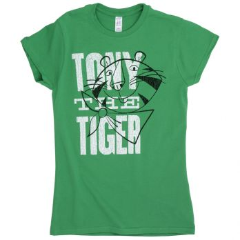 Tony the Tiger™ Vintage Stamped Women's Tee front view