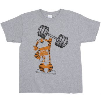 Vintage Tony the Tiger™ Weightlifter Youth Tee front view