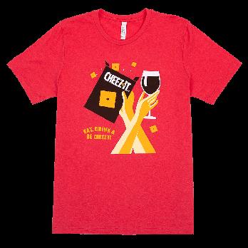 Wine & Cheez-It® Unisex Tee