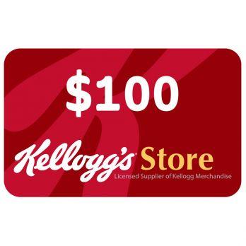KelloggStore.com $100 Gift Card