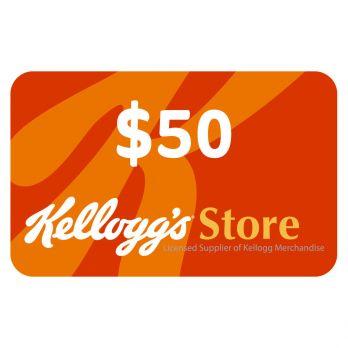 KelloggStore.com $50 Gift Card